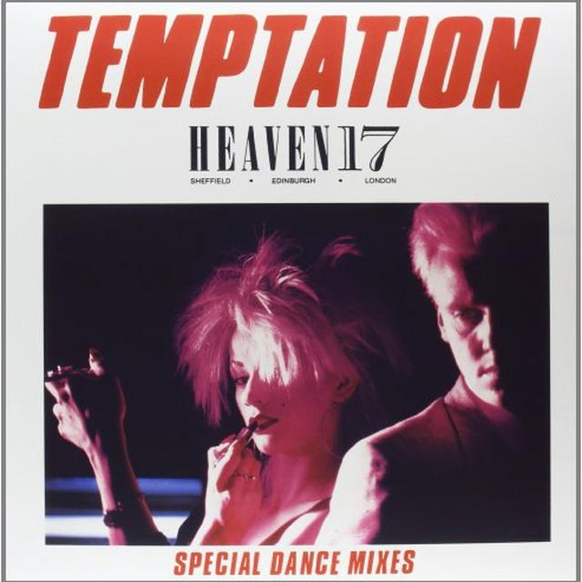 Heaven 17 TEMPTATION Vinyl Record - Canada Import
