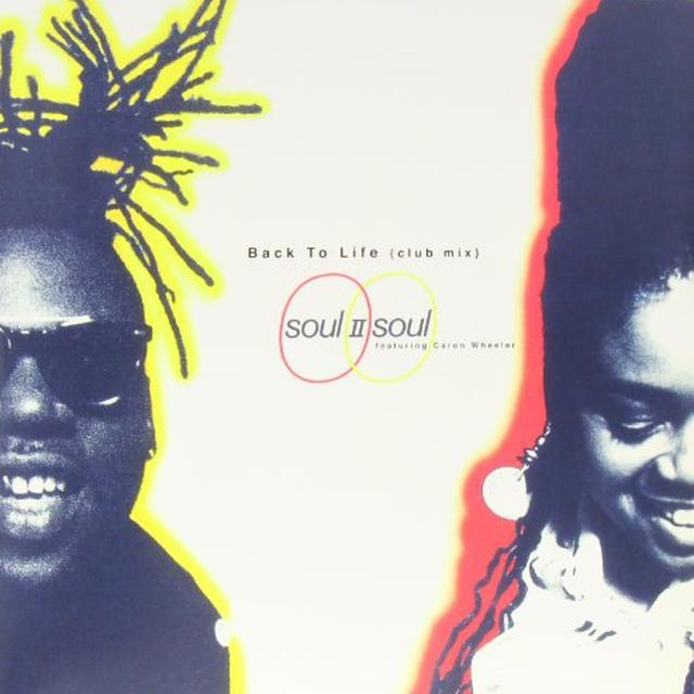 Soul Ii Soul BACK TO LIFE Vinyl Record - Canada Import