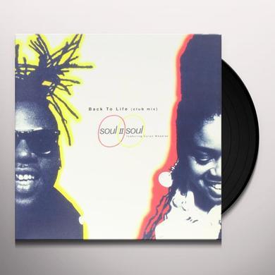 Soul Ii Soul BACK TO LIFE Vinyl Record - Canada Import