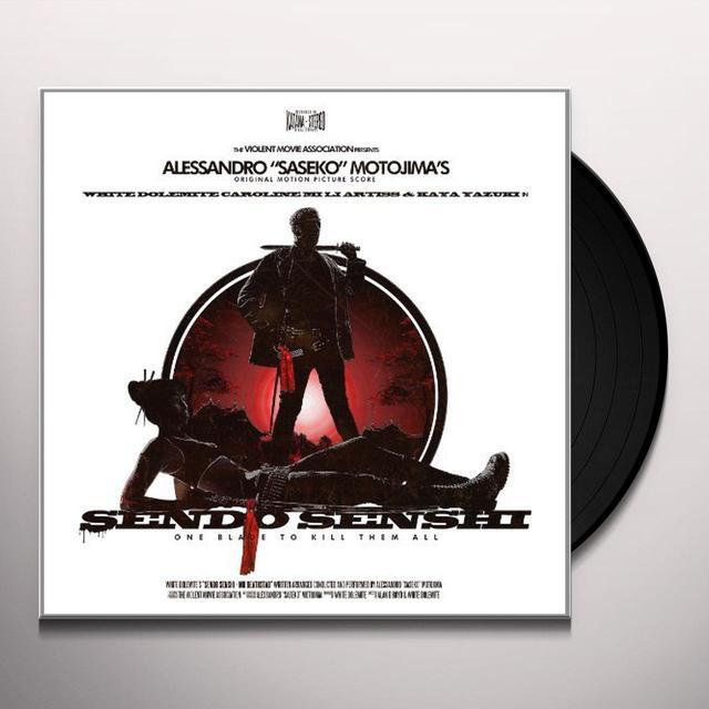 Alessandro Saseko (Uk) Motojima SENDO SENSHI Vinyl Record - UK Import