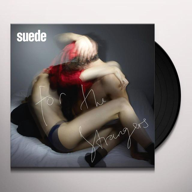 Suede FOR THE STRANGERS/HIT ME Vinyl Record - UK Import