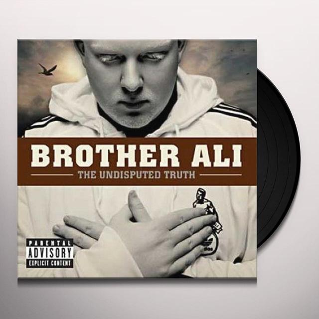 Brother Ali UNDISPUTED TRUTH (UK) (Vinyl)