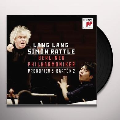 Lang Lang/Sir Simon Rattle PROKOFIEV: PIANO CONCERTO NO. 3/BARTOK: PIANO CONC Vinyl Record
