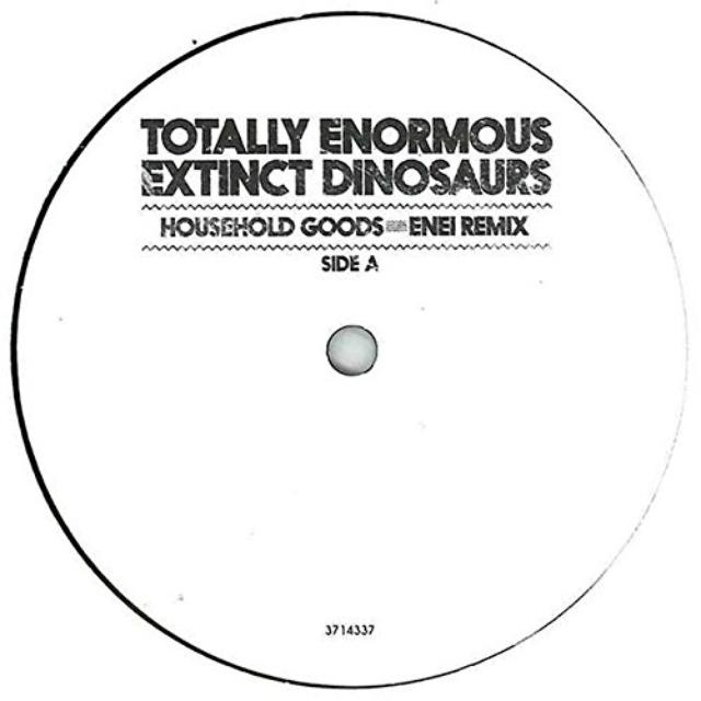 Totally Enormous Extinct Dinosaurs HOUSEHOLD GOODS Vinyl Record - UK Release