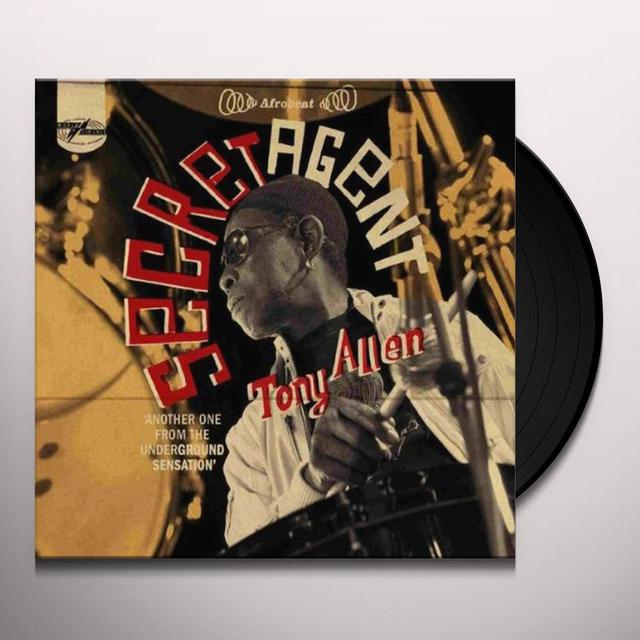 Tony Allen SECRET AGENT (GER) Vinyl Record