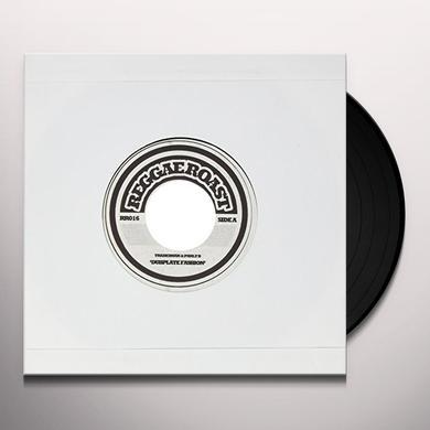 Tradesman & Parly B DUBPLATE FASHION Vinyl Record