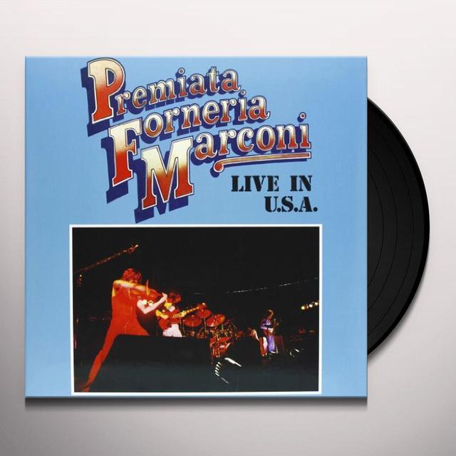Premiata Forneria Marconi LIVE IN U.S.A. (GER) Vinyl Record
