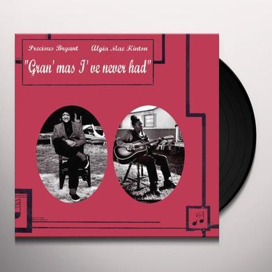 Precious Bryant & Algia Mae Hinton GRAN'MAS I'VE NEVER HAD (GER) Vinyl Record