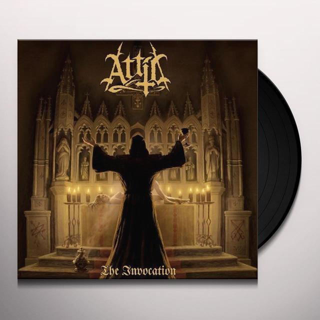 Attic INVOCATION (GER) Vinyl Record