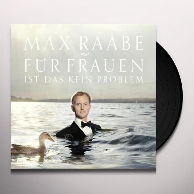 Max Raabe FUER FRAUEN IST DAS KE PROBLEM Vinyl Record - Holland Import