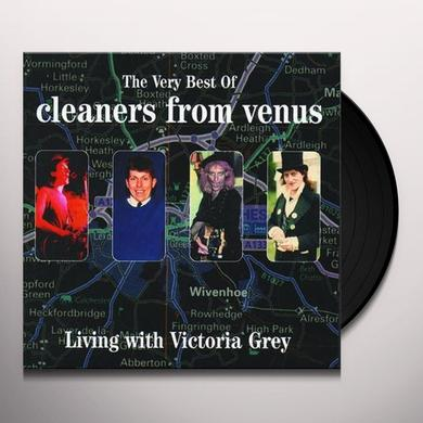 The Cleaners From Venus VERY BEST OF LIVING WITH VICTORIA GREY Vinyl Record - Holland Import