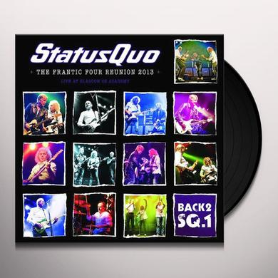 Status Quo BACK2SQ1/THE FRANTIC FOUR REUNION 2013 Vinyl Record - Holland Import