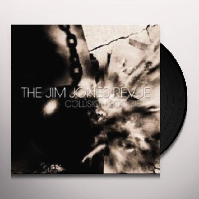 Jim Revue Jones COLLISION BOOGIE Vinyl Record - UK Import