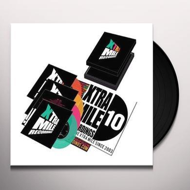 Jim Lockey & The Solemn Sun/Crazy Arm XTRA MILE SINGLE SESSIONS 7 Vinyl Record - UK Import