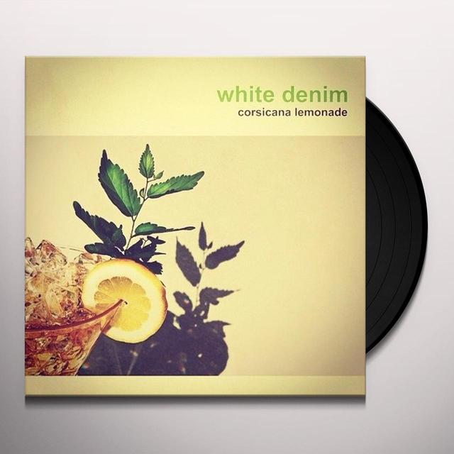 White Denim CORSICANA LEMONADE Vinyl Record - UK Import