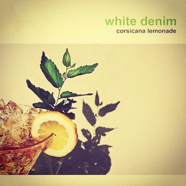 White Denim CORSICANA LEMONADE Vinyl Record - UK Import