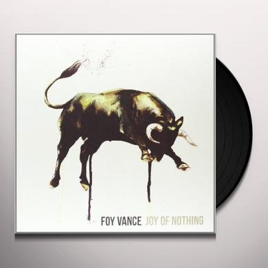 Foy Vance JOY OF NOTHING Vinyl Record - UK Import