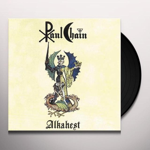 Chain Paul ALKAHEST/BLACK VINYL Vinyl Record