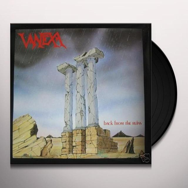 Vanexa BACK TO THE RUINS Vinyl Record