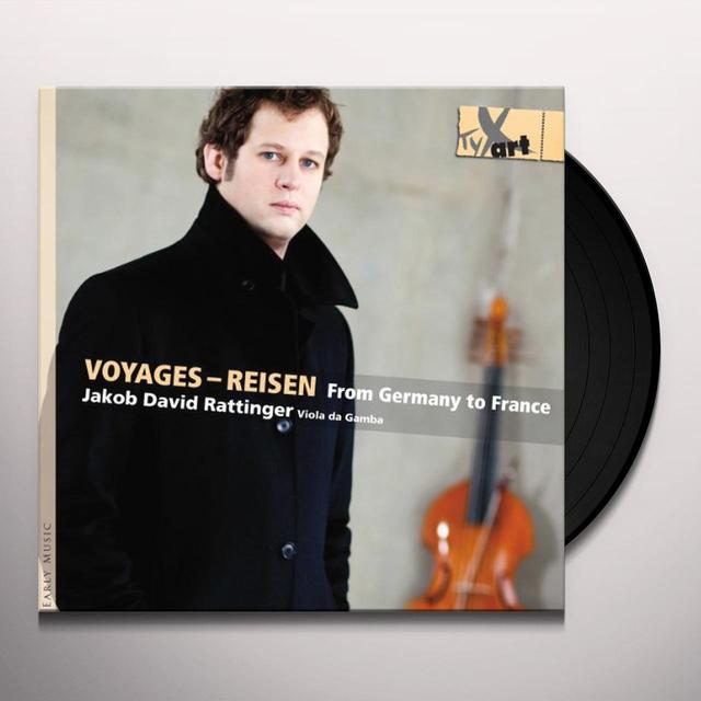 Jakob David Rattinger VOYAGES (FRA) Vinyl Record