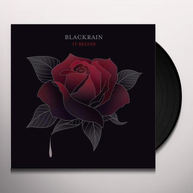Blackrain IT BEGINS (FRA) (Vinyl)