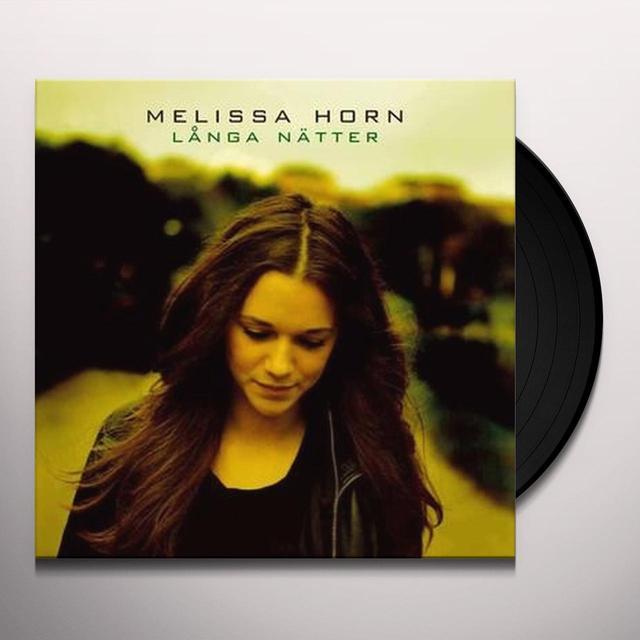 Melissa Horn LANGA NATTER Vinyl Record - Sweden Release