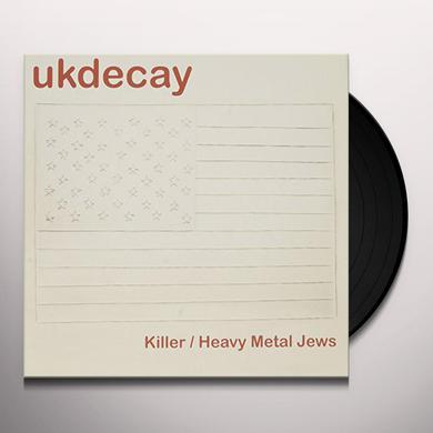 Uk Decay HEAVY METAL JEWS Vinyl Record