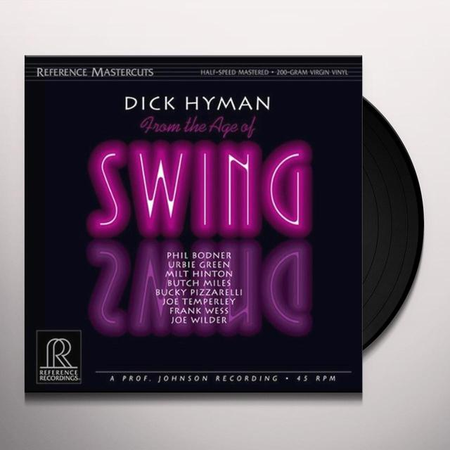 Dick Hyman FROM THE AGE OF SWING (HOL) (Vinyl)