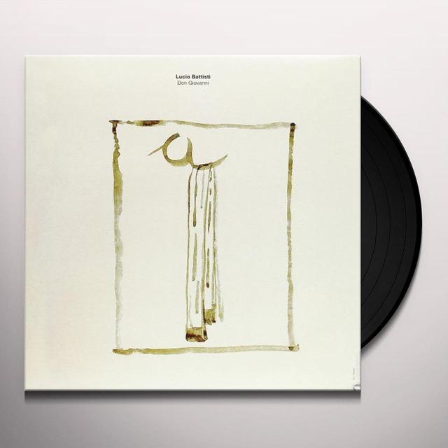 Battisti Lucio DON GIOVANNI Vinyl Record - Italy Import
