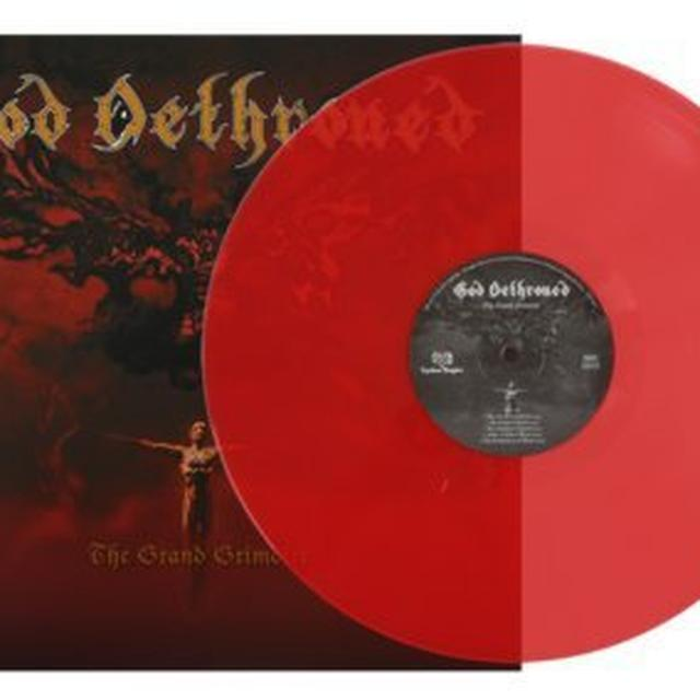 God Dethroned GRAND GRIMOIRE (GER) Vinyl Record