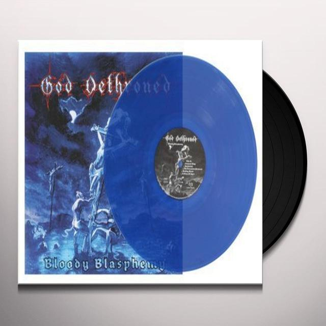 God Dethroned BLOODY BLASPHEMY Vinyl Record