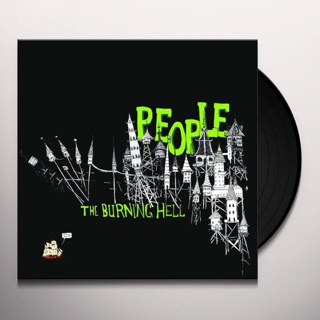 Burning Hell PEOPLE Vinyl Record - Portugal Import