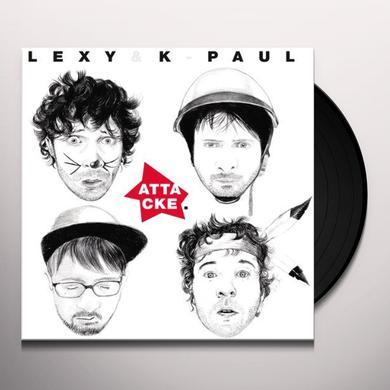Lexy & K-Paul ATTACKE (GER) Vinyl Record