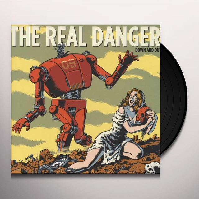 Real Danger DOWN & OUT (GER) Vinyl Record