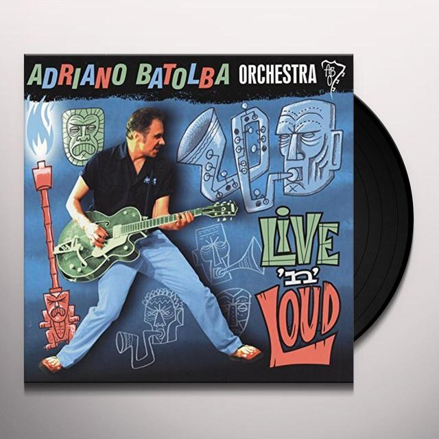 Adriano Orchestra Batolba LIVE'N' LOUD Vinyl Record