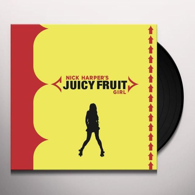Nick Harper JUICY FRUIT GIRL (GER) Vinyl Record