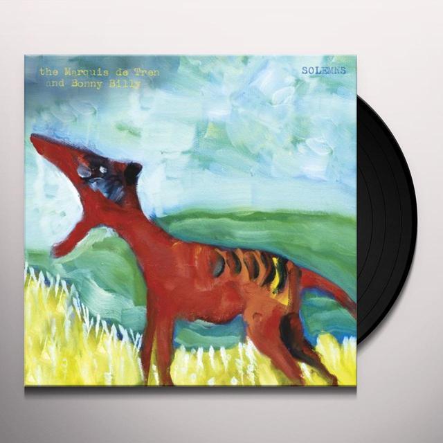 Marquis De Tren & Bonnie Prince Billy SOLEMNS Vinyl Record - Holland Import