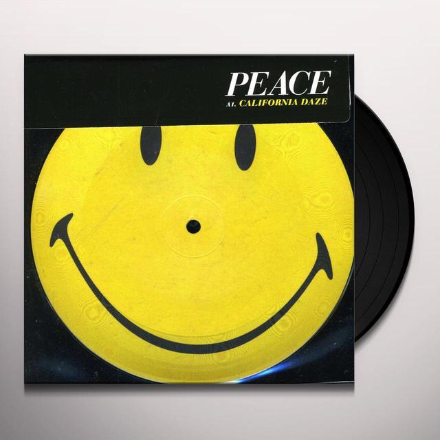 Peace CALIFORNIA DA (GER) Vinyl Record