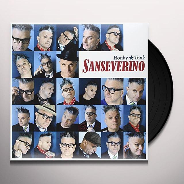 Sanseverino HONKY TONK (GER) Vinyl Record