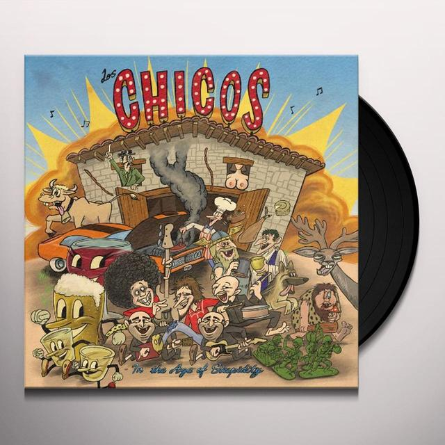 Los Chicos IN THE AGE OFSTUPIDITY Vinyl Record - UK Import