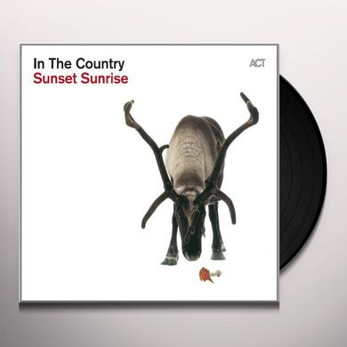 In The Country SUNSET SUNRISE Vinyl Record