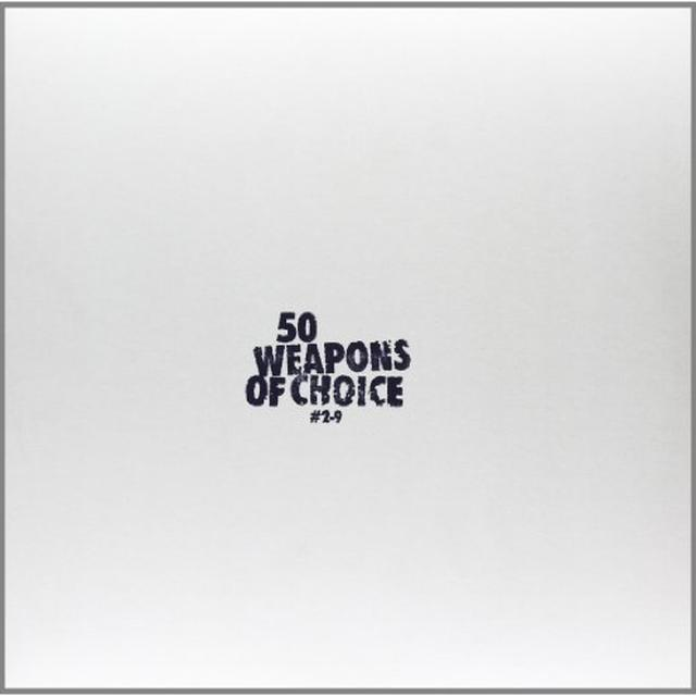 Moderat/Modeselektor 50 WEAPONS OF CHOICE (GER) Vinyl Record