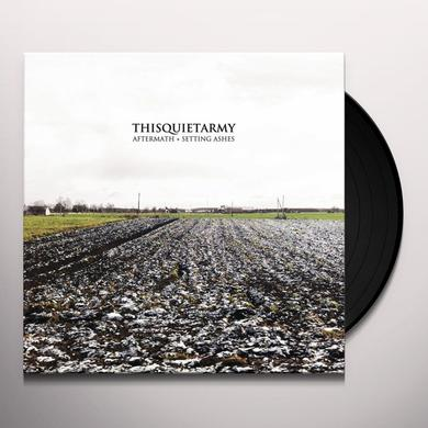 Thisquietarmy AFTERMATH / SETTING ASHES Vinyl Record