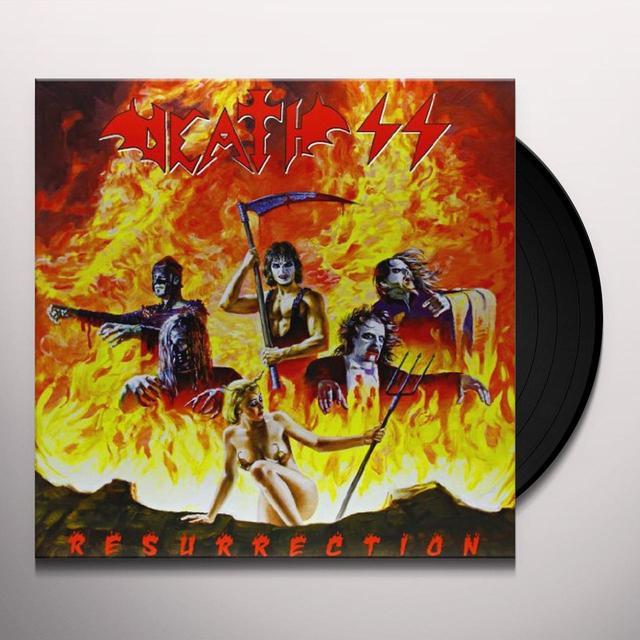 Death Ss RESURRECTION Vinyl Record - Italy Import