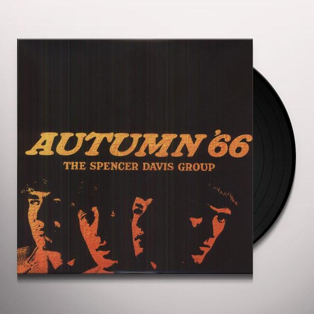 Spencer Group Davis AUTUMN 66 Vinyl Record - Italy Import