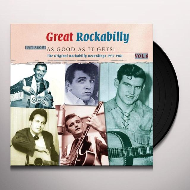 GREAT ROCKABILLY JUST ABOUT AS GOOD AS IT GETS! Vinyl Record