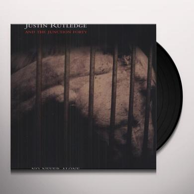 Justin Rutledge NO NEVER ALONE Vinyl Record - Canada Import