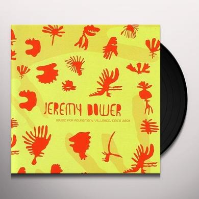 Jeremy Dower MUSIC FOR RETIREMENT VILLAGES CIRCA 2050 Vinyl Record - Australia Release