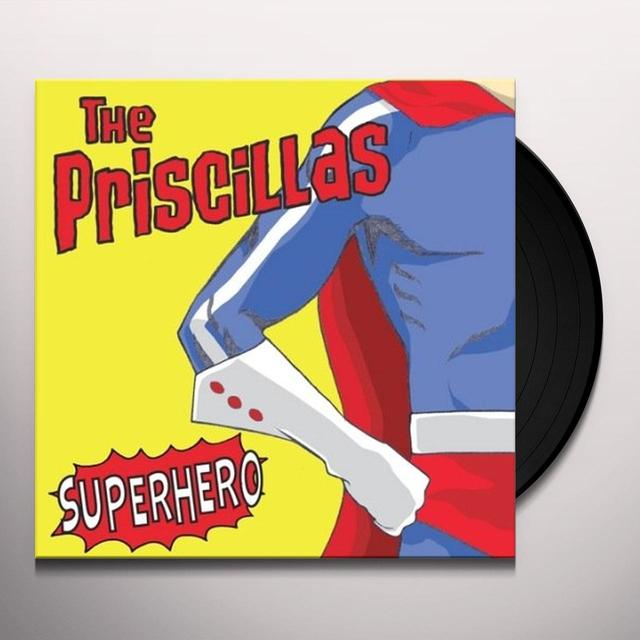 Priscillas SUPERHERO Vinyl Record