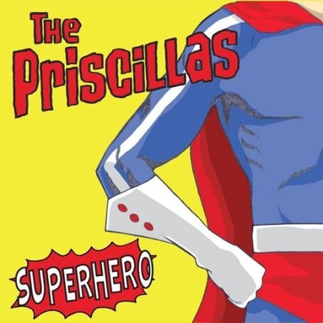 Priscillas SUPERHERO Vinyl Record - UK Import